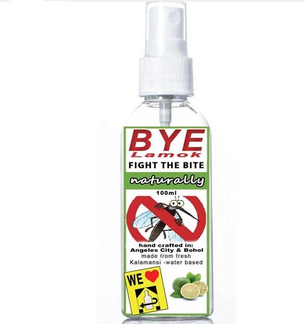 BYE Lamok, Mosquitoes hate it!
